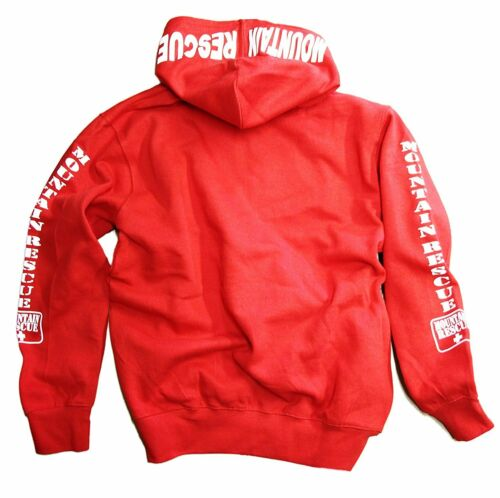 Mountain Rescue Hoodie Sweatshirt Red