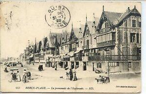 CP-62-Pas-de-Calais-Berck-Plage-La-promenade-de-l-039-Esplanade