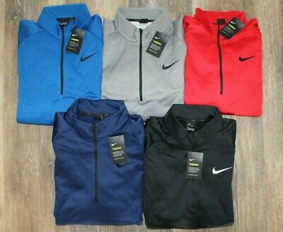 SIZES! NWT NIKE Mens BIG /& TALL Therma Pullover 1//4 Zip Sweatshirt  MANY COLORS