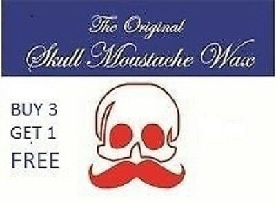 Moustache Wax...4 Fragrances....Sandelwood....Musk....SevenSeas.....and Natural