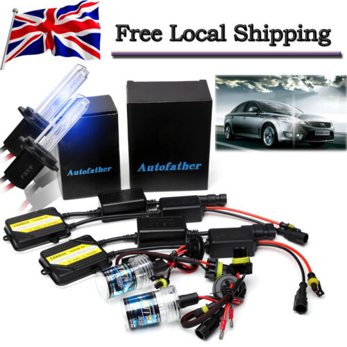 AC CANBUS 55W XENON HID CONVERSION HEADLIGHTS BULBS KIT H7 FOR FORD MONDEO 94-06