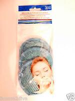 Microfiber Facial Scrubber 3 Count Aqua/turquoise Famous Designer Color