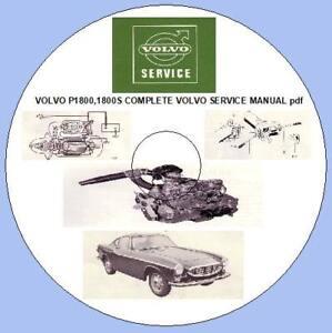 volvo 1800e 1971 service manual repair manual