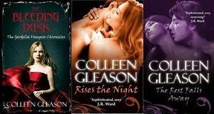 Colleen-Gleason-3-Livre-Ensemble-Gardella-Vampire-Tout-Neuf-Envoi