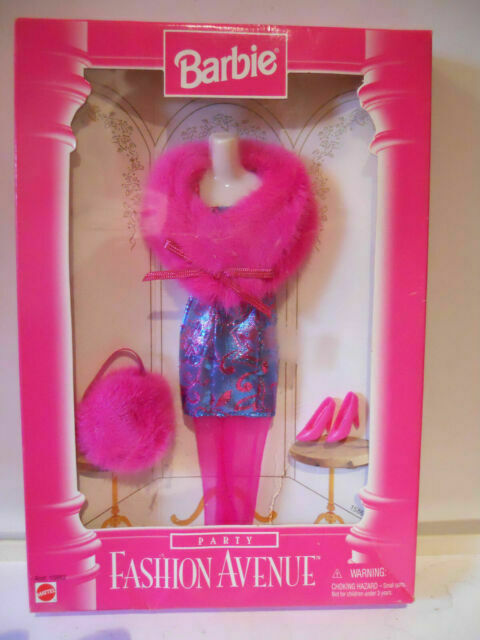 Vintage Mattel Kelly Pretty Bright Pink /& Lace Party Dress NEW #69