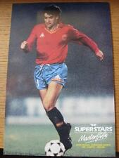 1986 Masterfile Super Stars Page/Card (A4): Spain - Michel (Jose Miguel Gonzales