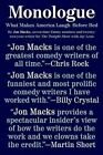 Monologue: What Makes America Laugh Before Bed by Jon Macks (Paperback / softback, 2016)
