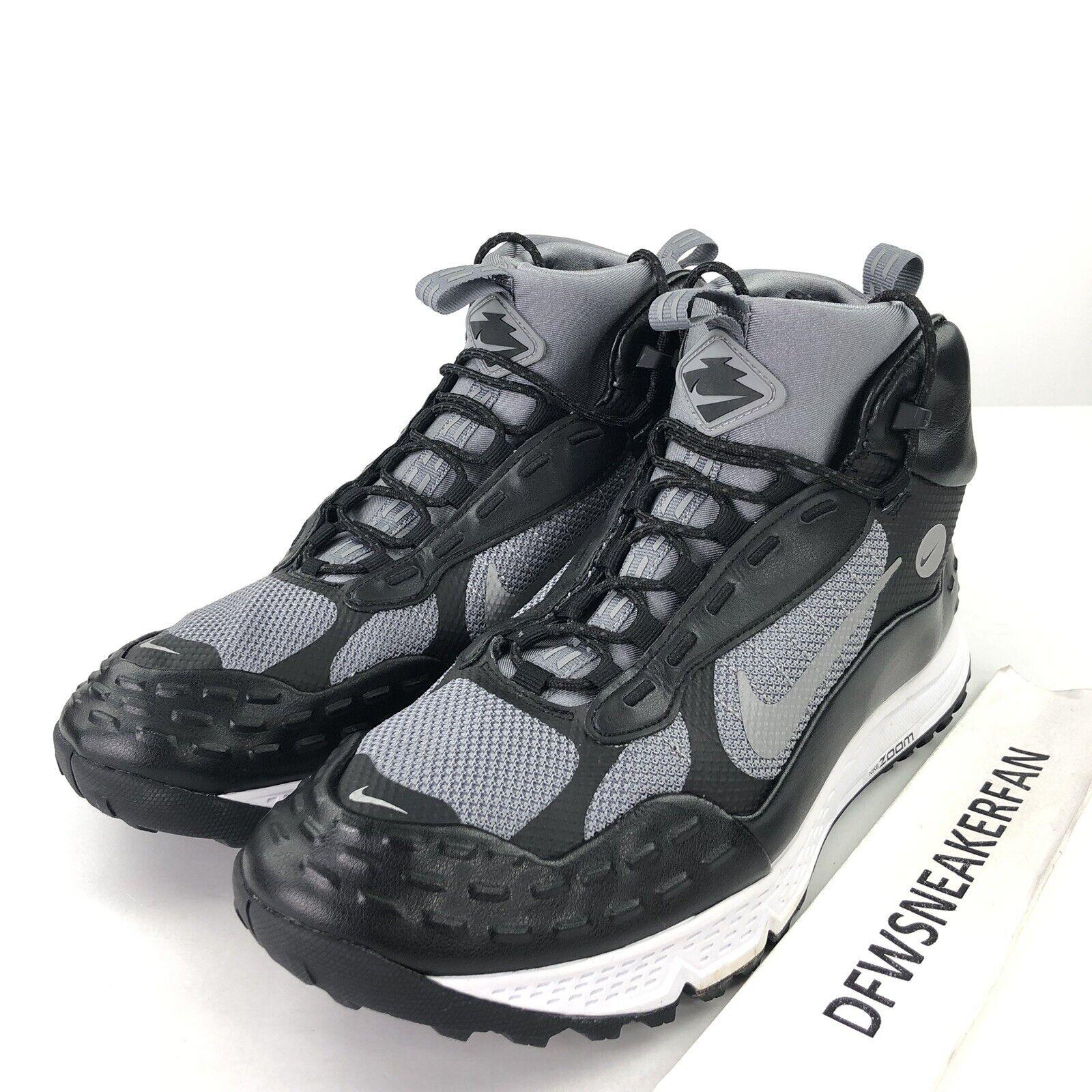 87b1f024b2e New Nike Air Zoom Sertig Men s 12 Hiking shoes Boots Black Grey 904335-001  New