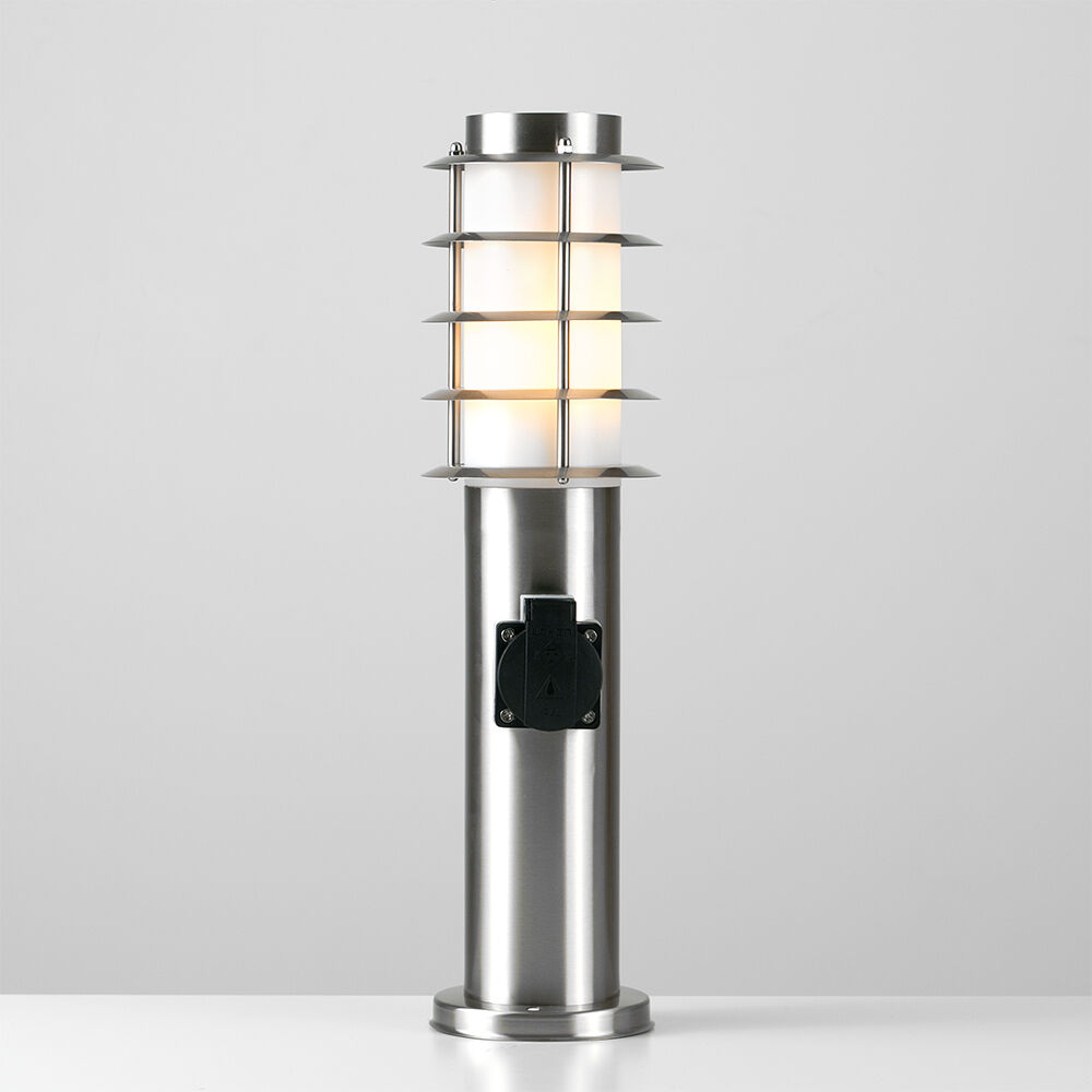 Outdoor Lamp Clearance: Modern 45cm Stainless Steel Outdoor LED Bollard Garden