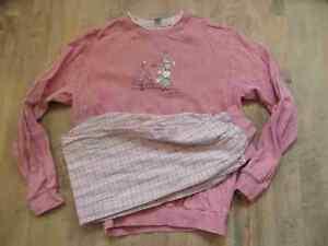 best loved 3e43f 6afcb Details zu CALIDA schöner Schlafanzug Tannenbaum + Schafe rosa Gr. 140 TOP  HA117