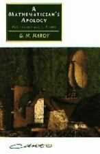Canto: A Mathematician's Apology by G. H. Hardy (1992, Paperback)