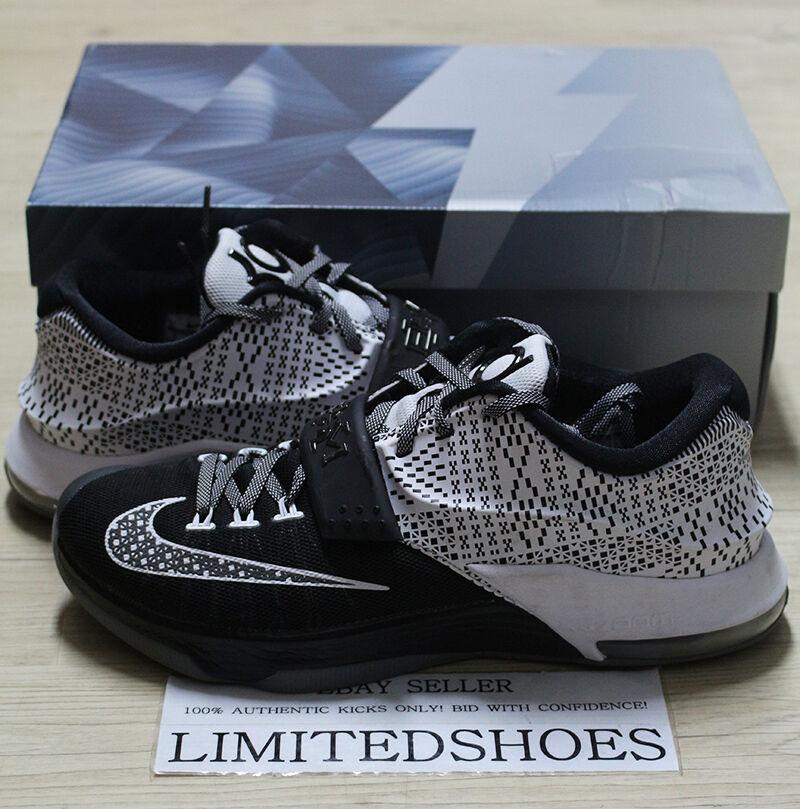 Nike kd 7 7 7 vii bhm schwarz history month 718817-010 uns 11 tante pearl ix usa xmas 846631