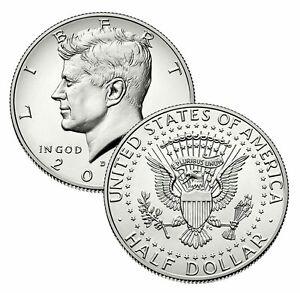 2002 P/&D President Kennedy Half Dollar Fifty Cent Coin Coins U.S Mint Money