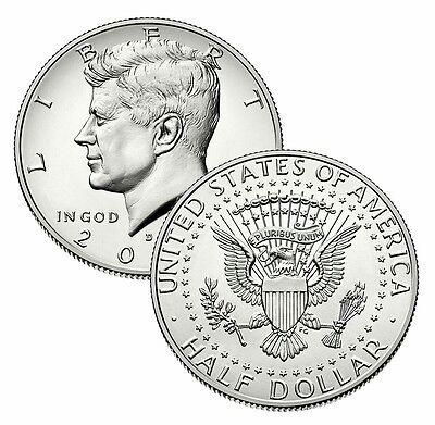 Mint Roll Coins 2007 P President Kennedy Half Dollar Fifty Cent Coin Money U.S