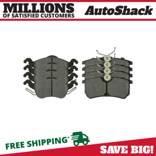 Details about  /Front and Rear Ceramic Disc Brake Pad Kit for 2001-2004 Ford Focus 2.0L 2.3L