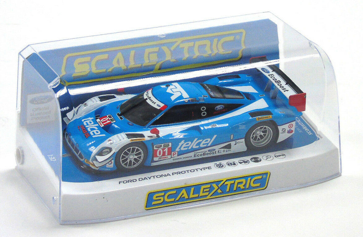 C3948 Scalextric Slot Car Ford Daytona Predotype Sebring 12h 2014 1 32 New Boxed