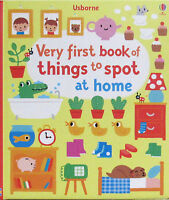 Usborne My Very First Book Of Things To Spot At Home (hc) Word Book