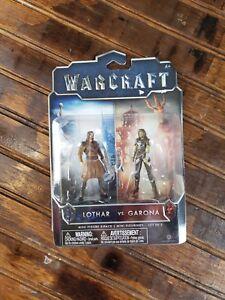 Warcraft Jakks 2016 New Lothar Vs Garona Mini Figure Ebay