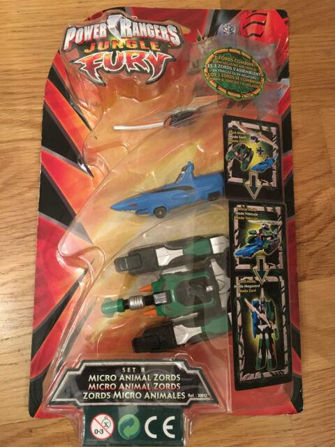 Micro Bandai Power Fury Rangers 30041 Zords Set Animal A Jungle 0kX8PZnNwO