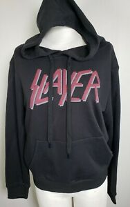 Slayer Band Cool Womens Hoodie Black