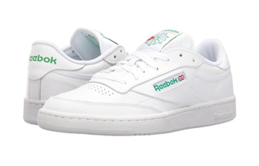 444d0a62470a Reebok Club C 85 Ar0455 White Grey Leather Casual Shoes Medium (d M ...