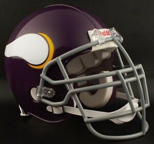 65de5a6f1f7 Image is loading MINNESOTA-VIKINGS-1961-1979-NFL-Riddell-AUTHENTIC -Throwback-