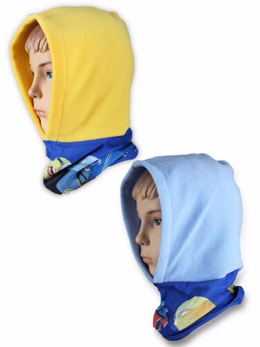 Boys Kids Children Minions Warm Snood With Fleece Hood 770-954