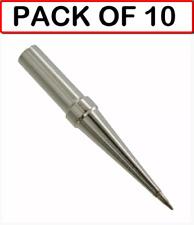 10 Pack Weller Original Ets Conical Solder Tip For Pes51 Amp Wes51 Wow