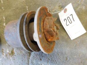 massey ferguson 40 tractor fan pulley tag 207 ebay