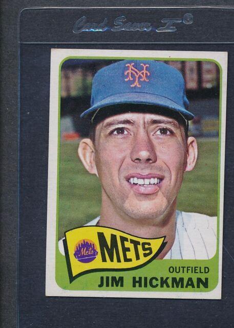 1965 Topps #114 Jim Hickman Mets EX *3579