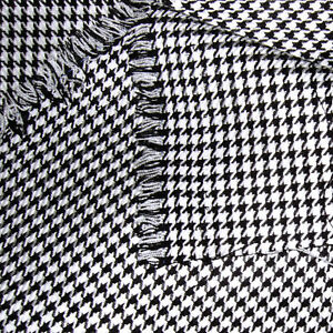 Image Is Loading Acrylic Cloth Uniform Skirts Jacket Tie Fabric Houndstooth