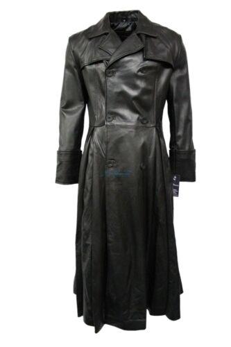 for whole family elegant shoes promo codes hommes pleine New Matrix cuir Morpheus Manteau Napa longueur ...