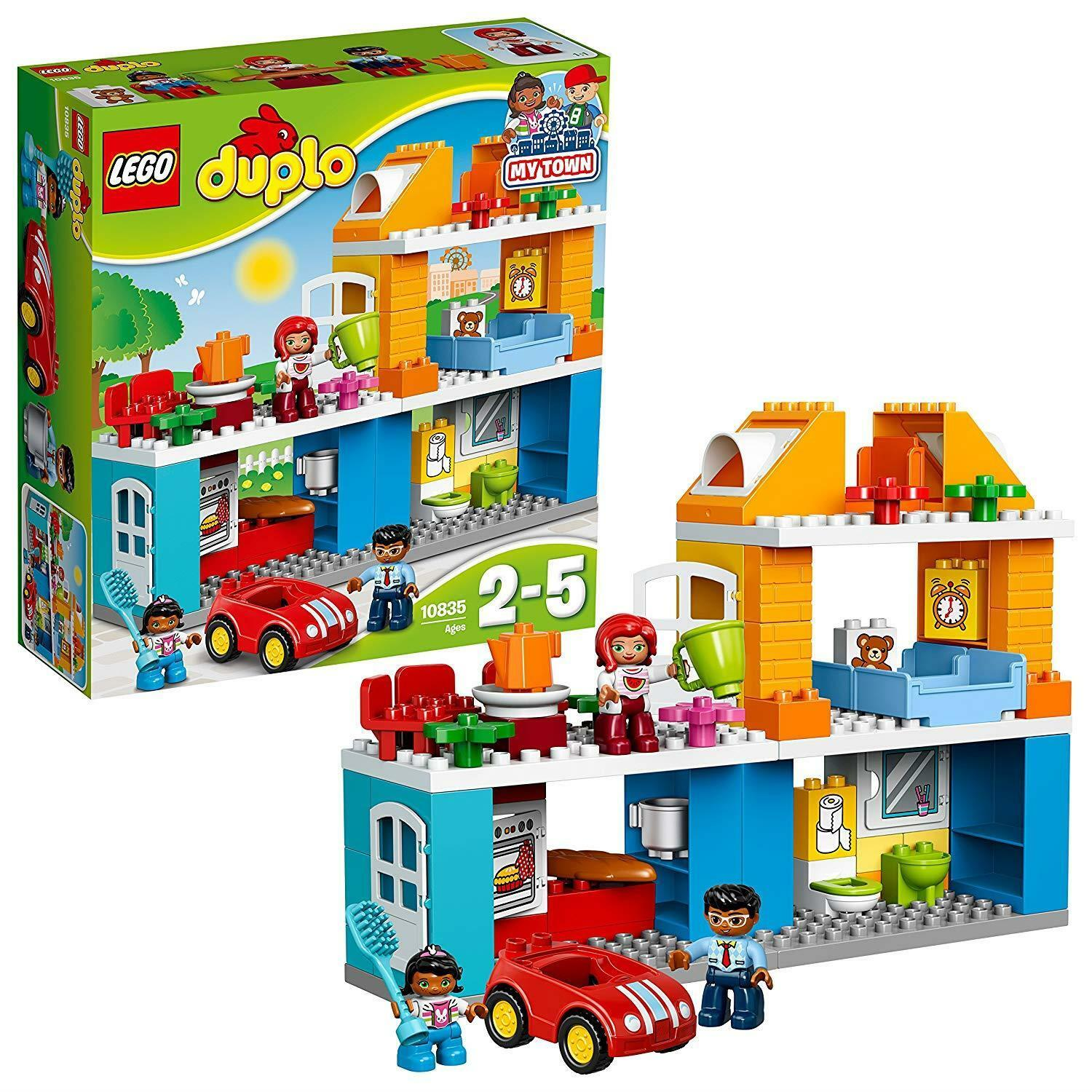 LEGO 10835 DUPLO DUPLO DUPLO Town Family House, My Town Building Set f30a9c