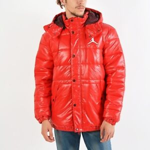 Jordan Jumpman Puffer Jacket winter jacket mens gym red NEW AA1957 ... 54c4a576c60