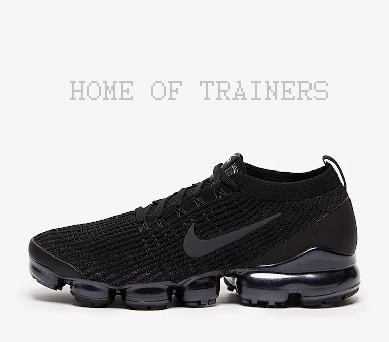 Nike Air Vapormax Flyknit 3 Triple Black Men's Trainers All Sizes Limited Stock