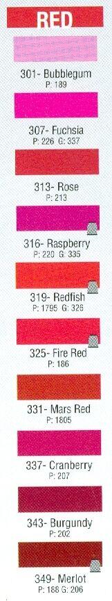 PRO WRAP NYLON COLOR FAST ROD BUILDING THREAD RED COLORS SIZE A 650YDS CFM-A