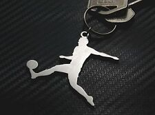 FOOTBALLER MALE Football Player Footy Soccer League Game Keyring Keychain