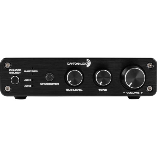 Dayton Audio DTA-2.1BT2 100W 2.1 Class D Bluetooth Amplifier with Sub Frequency