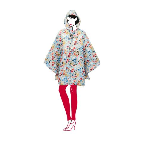 Damen Reisenthel Zusammenklappbare Up Regenmantel Einheitsgröße Poncho