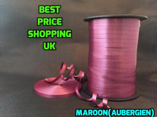 2 MM wide 100 Meter MASSIVE COLOUR SELECTION STOCKED Florist poly ribbon