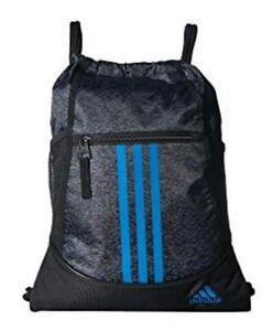 Image is loading Adidas-Alliance-II-Sackpack-Sling-Backpack-School-College- e18504b2cf131