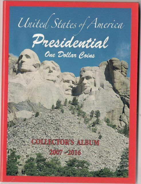 Coin Album For US Presidential Dollar $ P/&D Collector Gift Lighthouse VISTA