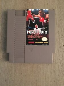 Mike Tyson's Punch-Out! - Nintendo NES Game Authentic