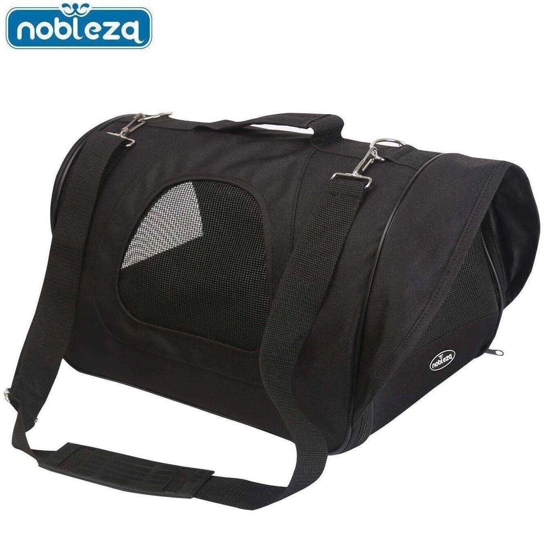Transportin bolsa para perro gato mascotas de viaje Bolso plegable M 40x24x23cm