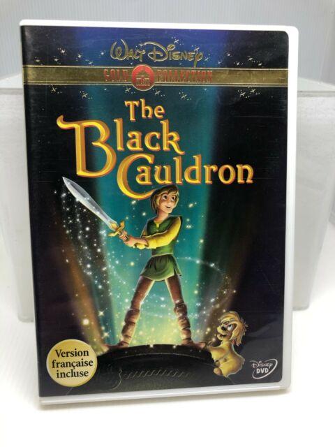 The Black Cauldron (DVD, 2000, Gold Collection Edition) Disney