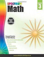 Math Workbook: 3rd Grade, School Supplies Textbooks Teaching Materials Kids on sale