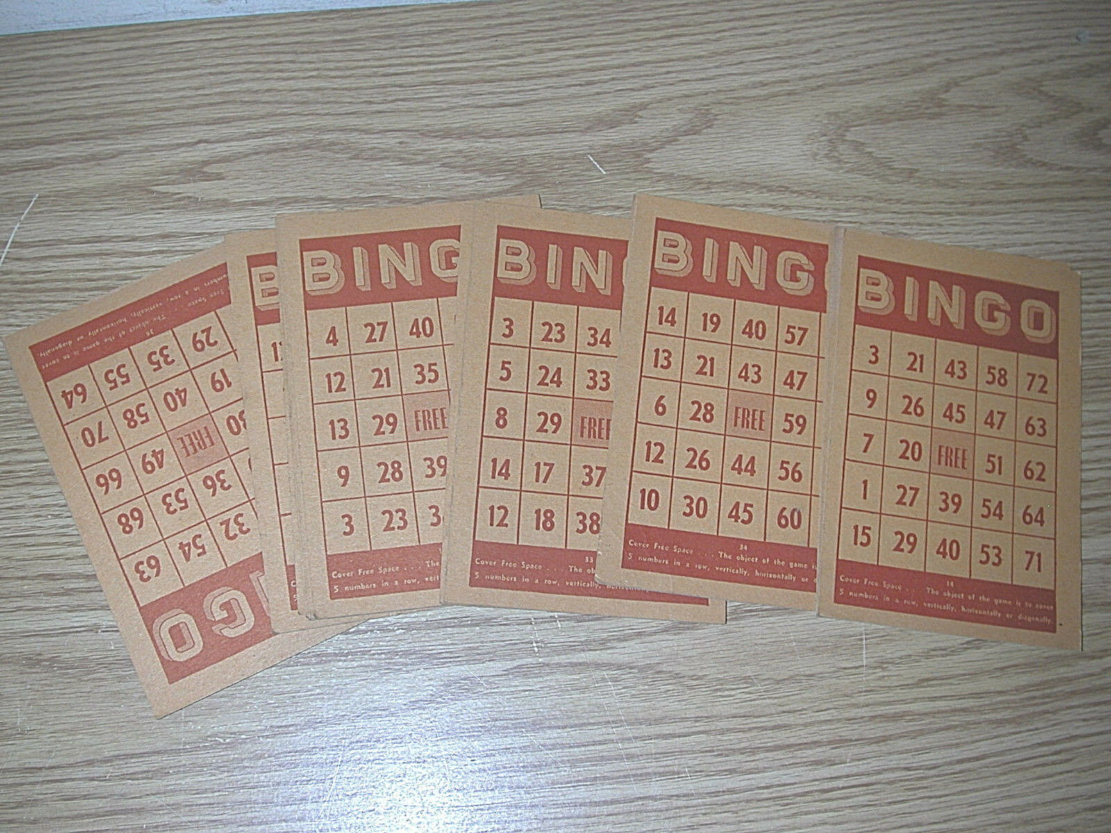 VINTAGE BUILT-RITE BINGO BINGO BINGO GAME SET NUMBER 8 W  SPINNER SELECTOR, MARKERS MISSING f8470f
