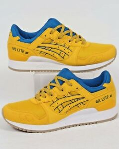 Amarillo azul Iii Gel Asics Tai verde Lyte 3 Uk 9 Chi On1Ynq07w