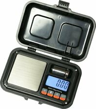 Rugged Digital Pocket Scale 100g X 001g With Cal Weight Jewelry Gold Gram Herb
