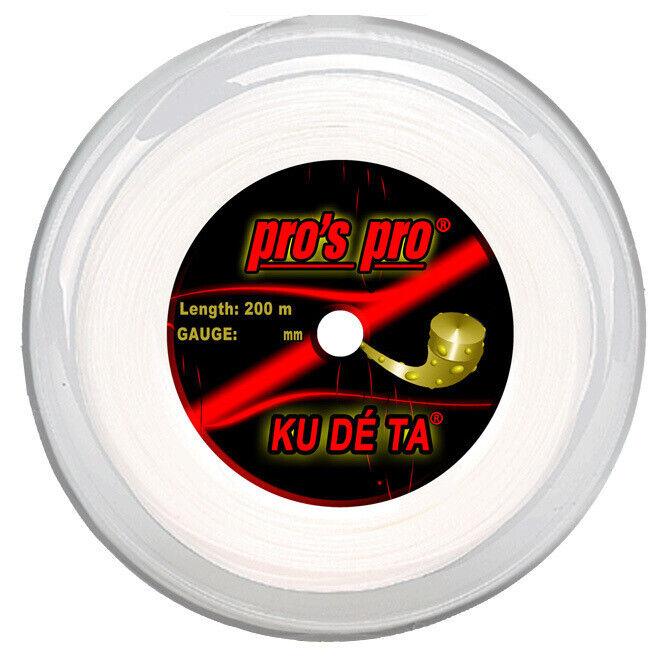 Pro's Pro Kudeta 16L 1.25mm Tennis Strings 200M Reel